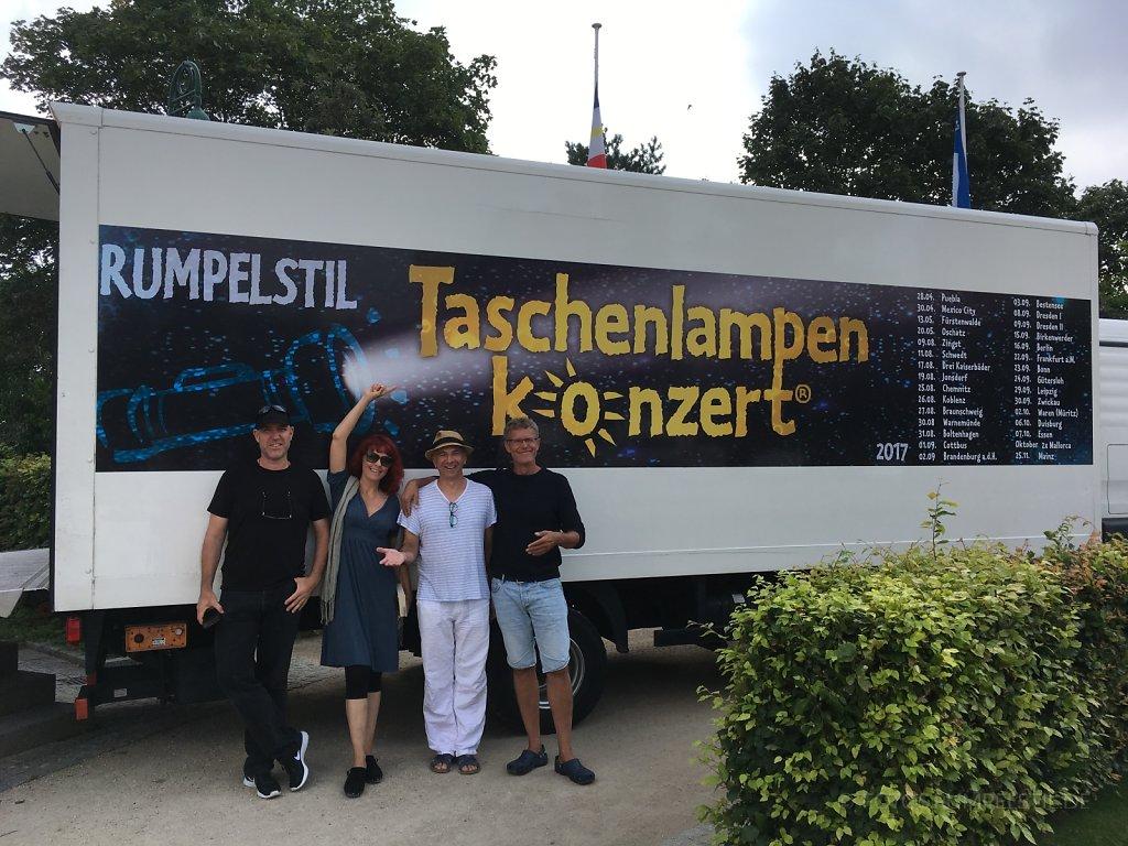 Sommertouren (hinter den Kulissen:)